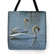 Side By Side For Life  Tote Bag