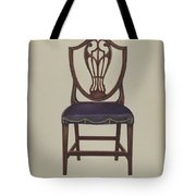 Side Chair (one Of Six) Tote Bag
