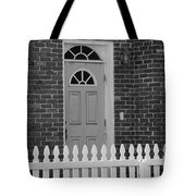 Side Door Tote Bag