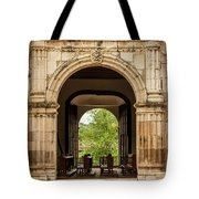 Side Entrance Of Copala Church Tote Bag