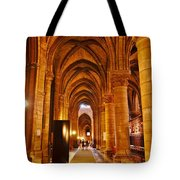 Side Hall Notre Dame Cathedral - Paris Tote Bag