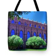 Side Of A Large Church Tote Bag