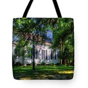 Side Of A Small Church Tote Bag