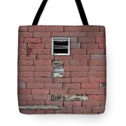 Side Of An Abandoned Old Barn Tote Bag