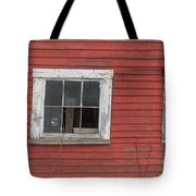 Side Of An Old Red Barn Quechee, Vermont Tote Bag