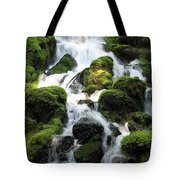 Side Of Clearwater Falls Tote Bag