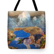 Side Show Mountains Tote Bag