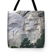 Side View Of Mount Rushmore  8696 Tote Bag