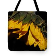 Sideview Sunflower Tote Bag