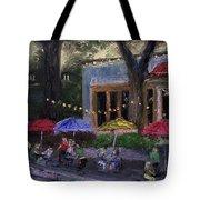 Sidewalk Cafe Tote Bag
