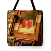 Sidewalk Gallery - Painted Tote Bag