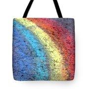 Sidewalk Rainbow  Tote Bag
