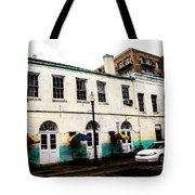 Sidewalk Tables Tote Bag