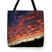 Sideways Sky Tote Bag