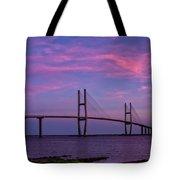 Sidney Lanier Bridge Tote Bag