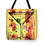 Sidzart Pop Art Martini This Is Sooo Mine Tote Bag