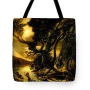 Siegfried And The Rhine Maidens Tote Bag