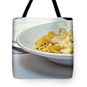 Siena-3-pasta With Four Cheeses Tote Bag