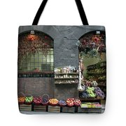 Siena Italy Fruit Shop Tote Bag