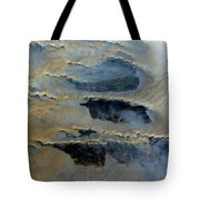 Sienna And Whales From Above Tote Bag