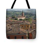 Sienna Rooftops Tote Bag by Tom Reynen