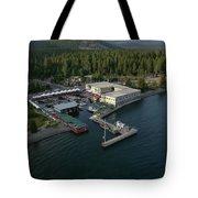 Sierra Boat Aerial Tote Bag
