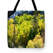 Sierra Fall Forest Tote Bag