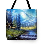 Sierra Mountain Meadow   Tote Bag