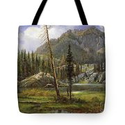 Sierra Nevada Mountains Tote Bag