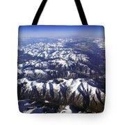 Sierra Nevada Range Tote Bag