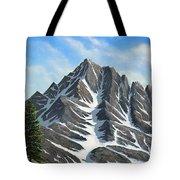 Sierra Peaks Tote Bag