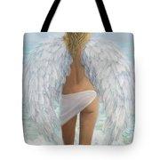Siesta Key Beach Angel Tote Bag
