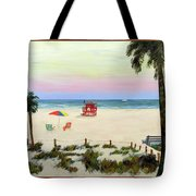 Siesta Key Beach Morning Tote Bag
