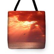 Siesta Key Pelican Tote Bag