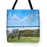 Siesta Key Public Beach Tote Bag