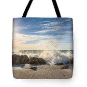 Siesta Key Splash Tote Bag
