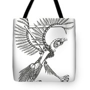 Sigma Eagle Tote Bag