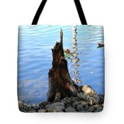 Sign Of Life Tote Bag