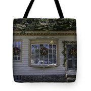 Sign Of The Rhinoceros At Christmas Tote Bag
