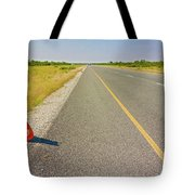 Sign On The Road Tote Bag