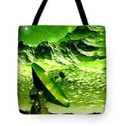 Signal From Space Tote Bag