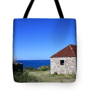 Signal House Radio Station Tote Bag