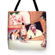 Signs A Self Portait Tote Bag