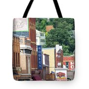 Signs And Historic Buildings Tote Bag