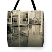 Signs In The Rain Tote Bag