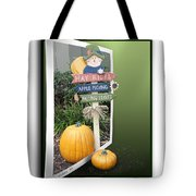 Signs Of Halloween Tote Bag