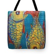 Signs Of Zodiac - Pisces Tote Bag