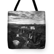 Sigoldufoss Waterfalls Iceland 1291 Tote Bag