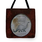 Siinclair Dino Gasoline Sign Tote Bag