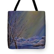 Silence Flows Tote Bag